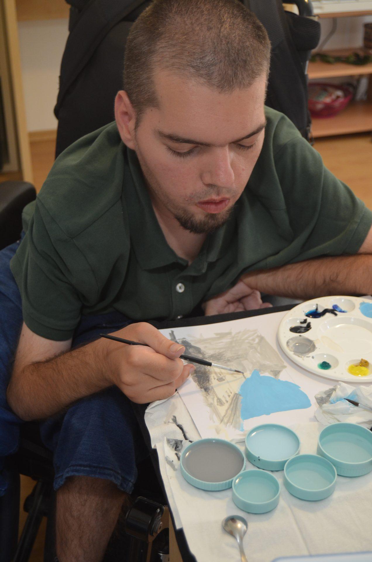 Malování temperami