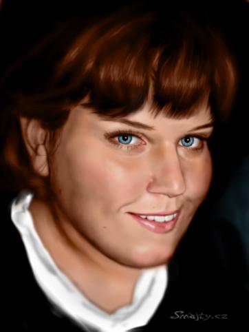 Digitální malba Verone